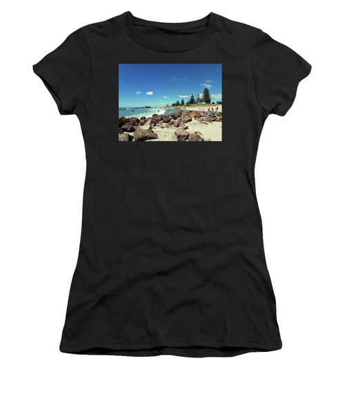 Mount Maunganui Beach 2 - Tauranga New Zealand Women's T-Shirt