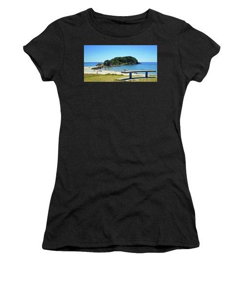 Mount Maunganui Beach 4 - Tauranga New Zealand Women's T-Shirt