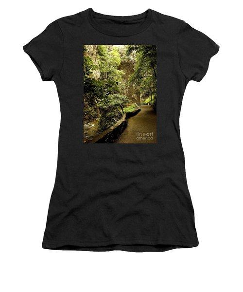 Women's T-Shirt (Junior Cut) featuring the photograph Natural Bridge  by Raymond Earley