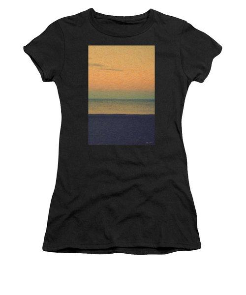 Not Quite Rothko - Breezy Twilight Women's T-Shirt