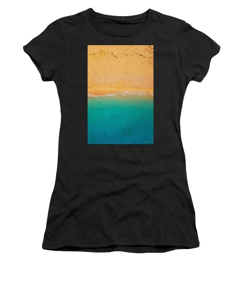 Not Quite Rothko - Surf And Sand Women's T-Shirt