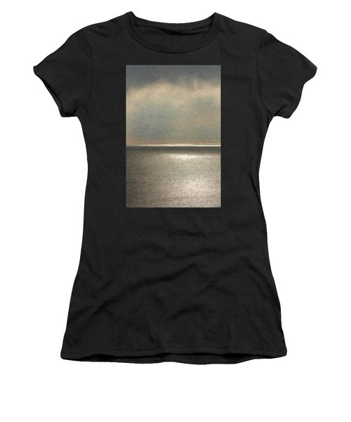 Not Quite Rothko - Twilight Silver Women's T-Shirt