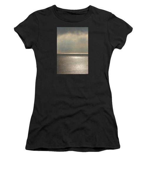 Not Quite Rothko - Twilight Silver Women's T-Shirt (Athletic Fit)