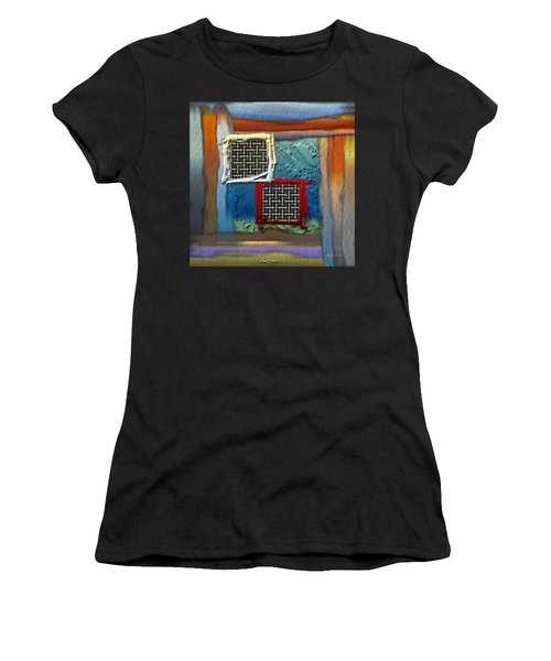 Obstructed Ocean View Women's T-Shirt (Athletic Fit)