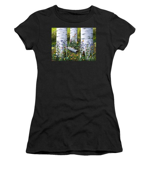 Old Aspen Grove Women's T-Shirt (Athletic Fit)
