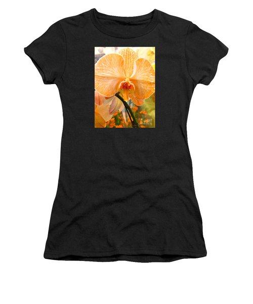 Orange Delight Women's T-Shirt (Athletic Fit)