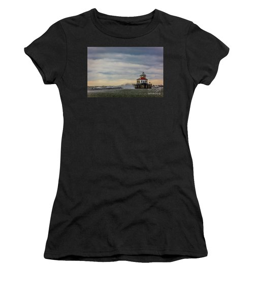 Oswego Harbor West Pierhead Light Women's T-Shirt