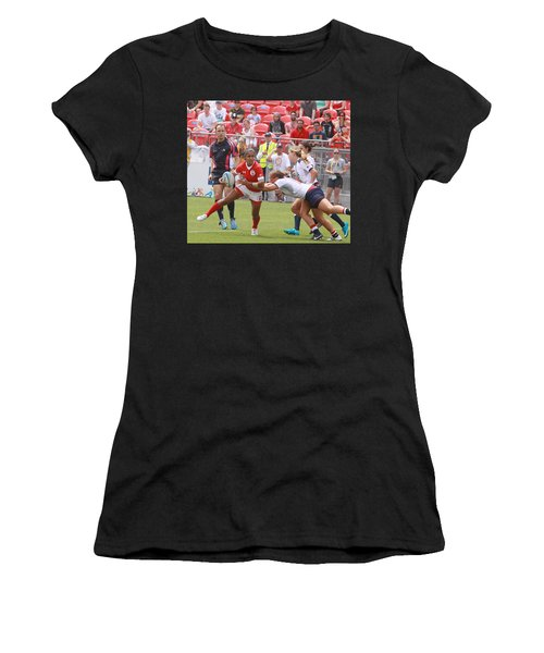 Pam Am Games Womens' 7's Women's T-Shirt (Athletic Fit)