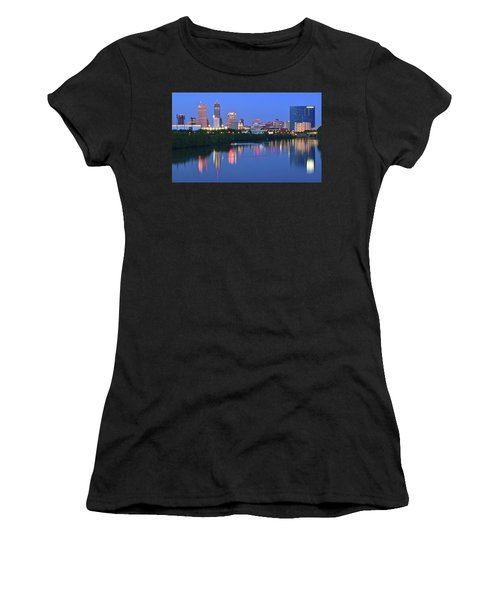 Panoramic Indianapolis Women's T-Shirt (Athletic Fit)