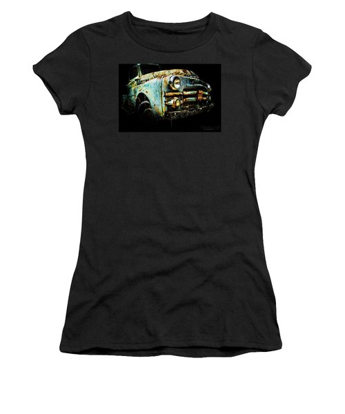 Women's T-Shirt featuring the photograph Grandpa's Truck by Glenda Wright