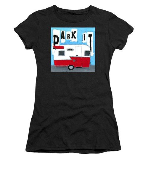 Park It Women's T-Shirt (Athletic Fit)