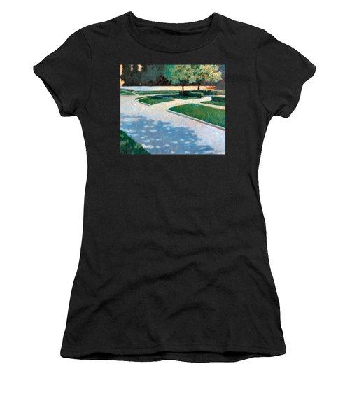 Parking Lot Women's T-Shirt (Athletic Fit)