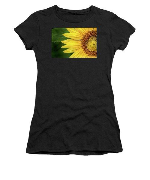 Partial Sunflower Women's T-Shirt
