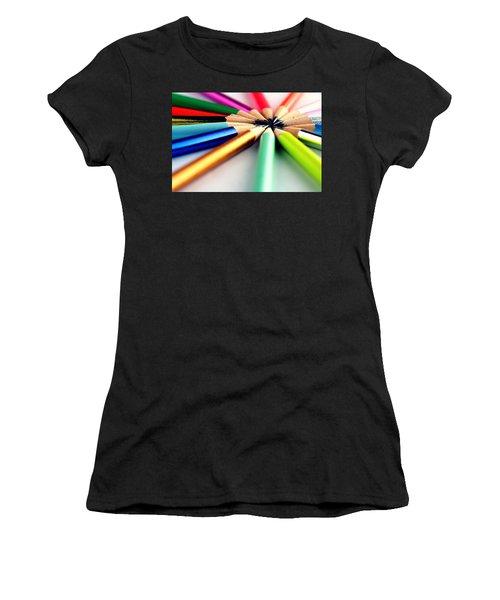 Pencils Women's T-Shirt (Athletic Fit)