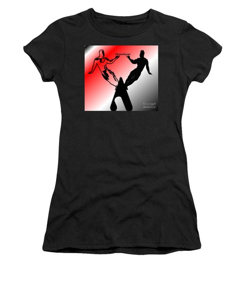 Perpendicular Women's T-Shirt (Athletic Fit)