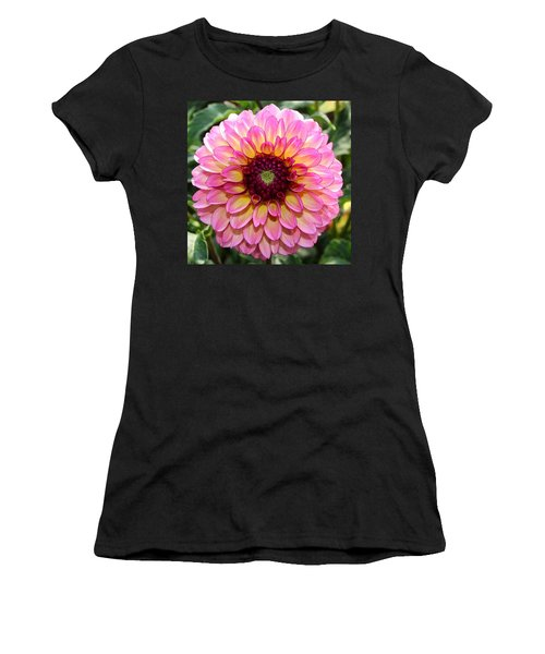 Pink Dahlia Women's T-Shirt