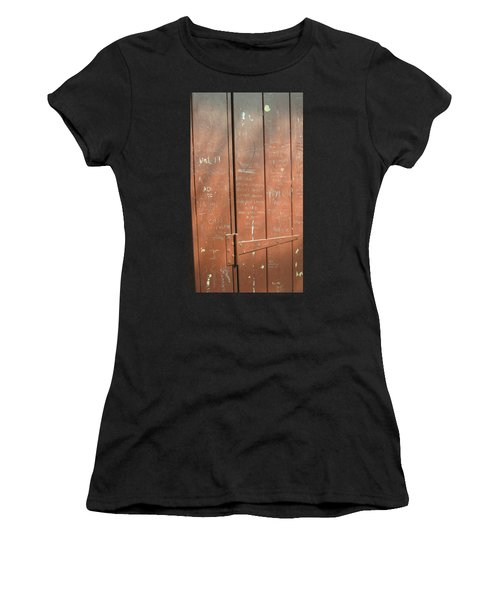 Prison Graffiti Women's T-Shirt (Athletic Fit)