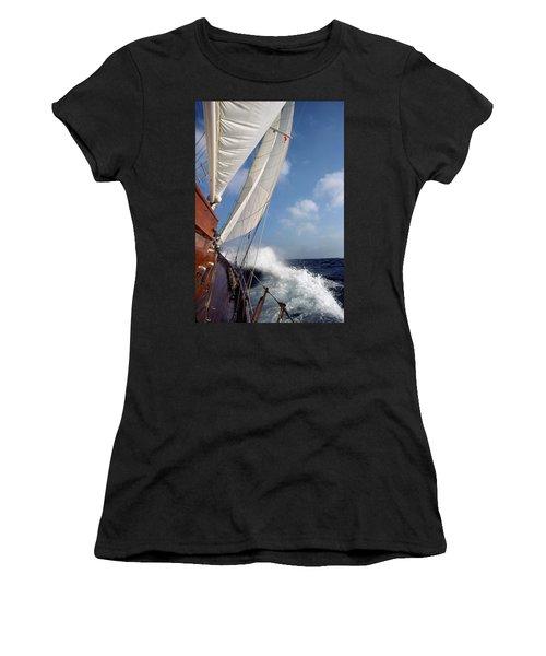 Rail Down Women's T-Shirt