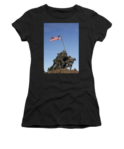 Raising The Flag On Iwo - 799 Women's T-Shirt