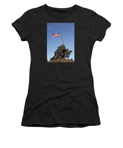 Raising The Flag On Iwo - 799 Women's T-Shirt (Athletic Fit)
