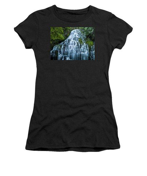 Ramona Falls Cascade Women's T-Shirt