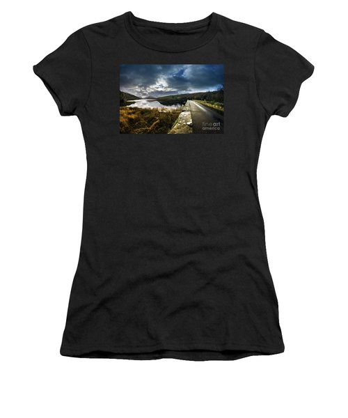 Road To Snowdon Women's T-Shirt (Athletic Fit)
