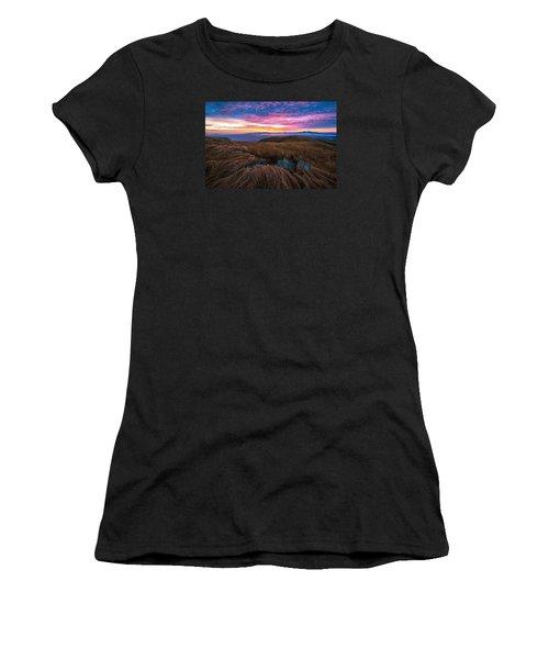 Roan Mountain Sunrise Women's T-Shirt (Athletic Fit)