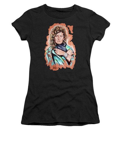 Robert Plant Women's T-Shirt (Athletic Fit)