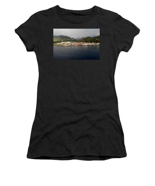Roseau Dominica Women's T-Shirt