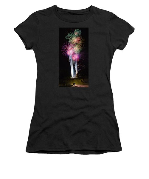 Royal Fireworks Women's T-Shirt