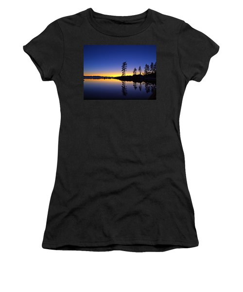 Sand Harbor Sunset Women's T-Shirt