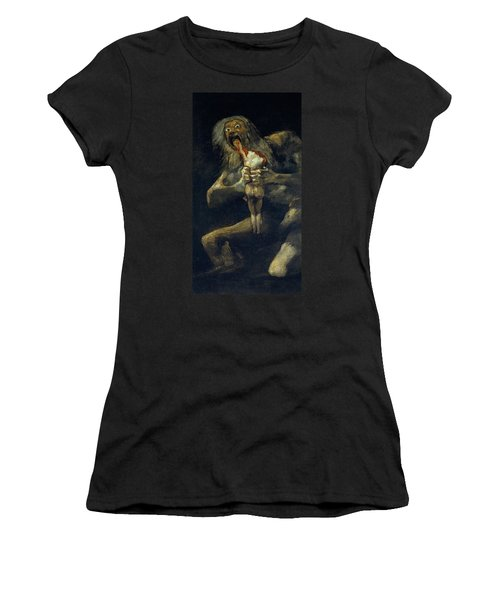 Saturn Devouring His Son Women's T-Shirt