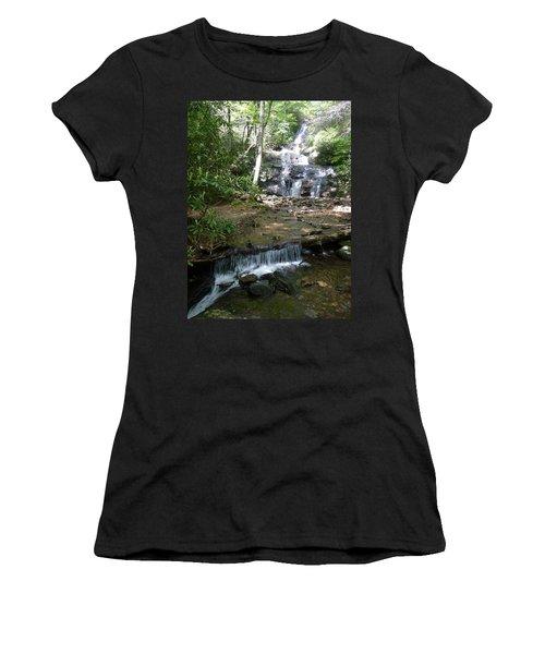 Set Rock Creek Falls Women's T-Shirt