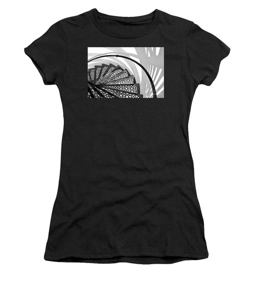 Shadow Lines Women's T-Shirt (Athletic Fit)