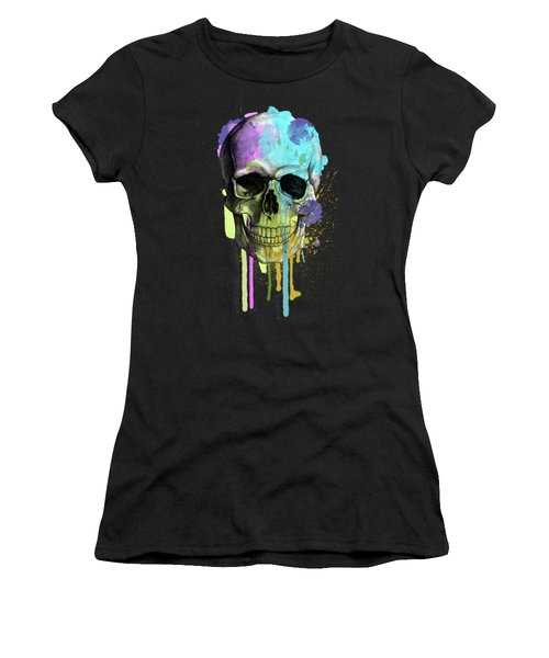 Halloween Women's T-Shirt (Junior Cut) by Mark Ashkenazi