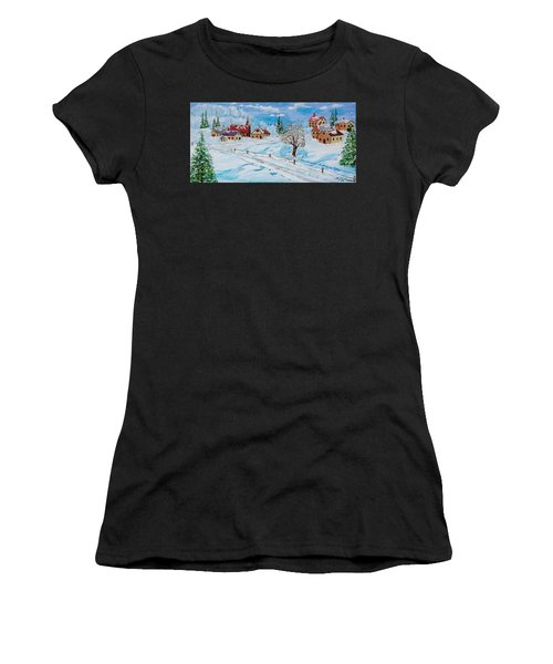 Winter Hamlet Women's T-Shirt (Athletic Fit)