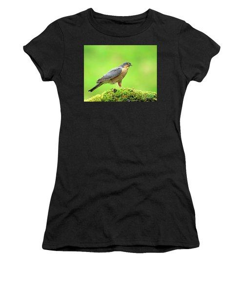 Sparrowhawk Women's T-Shirt (Athletic Fit)