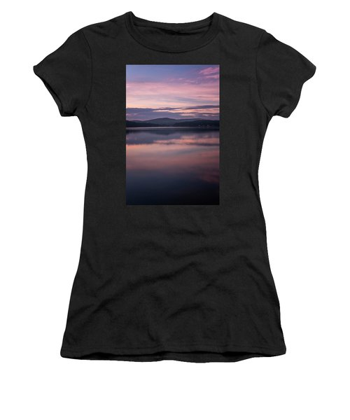 Spofford Lake Sunrise Women's T-Shirt (Athletic Fit)