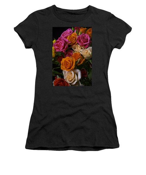 Spray Roses Women's T-Shirt