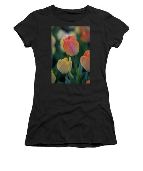 Spring Tulip Women's T-Shirt (Athletic Fit)