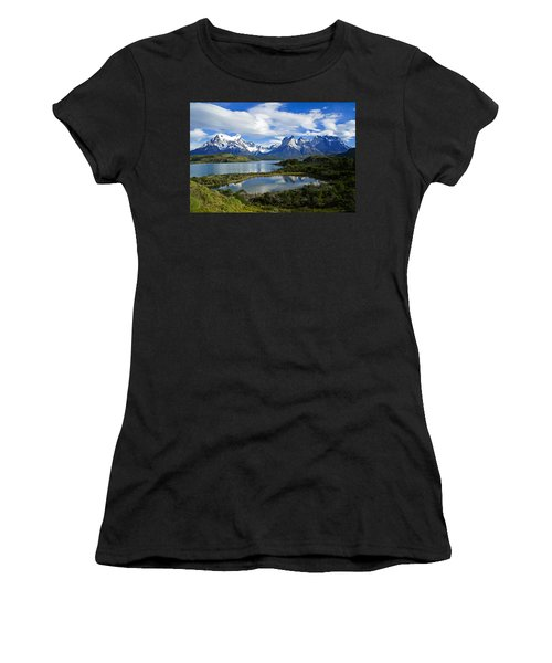 Springtime In Patagonia Women's T-Shirt (Athletic Fit)
