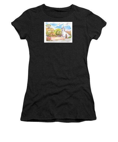 St. Catherine Of Alexandria Catholic Church, Avalon, Santa Catalina Island, Ca Women's T-Shirt
