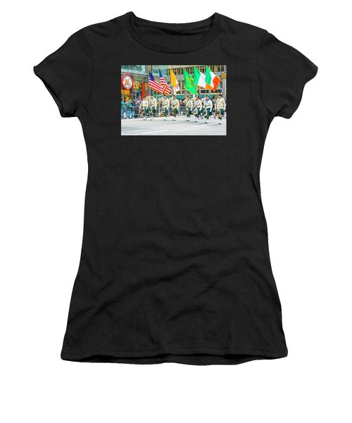 St. Patrick Day Parade In New York Women's T-Shirt