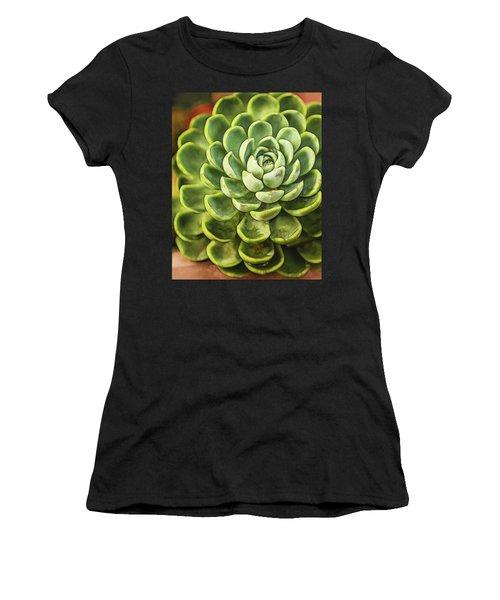 Succulent Women's T-Shirt (Athletic Fit)