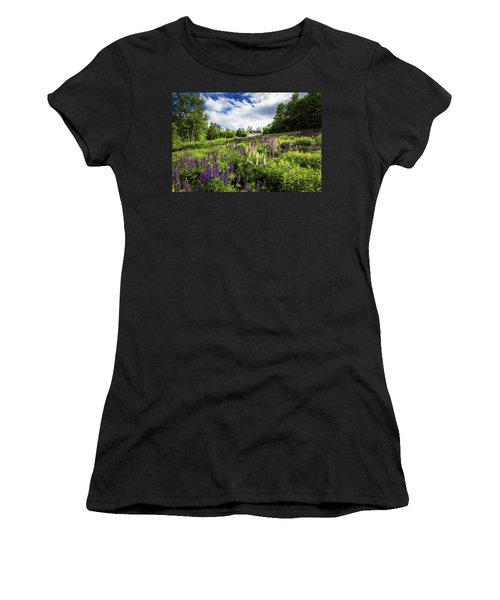 Sugar Hill Women's T-Shirt (Junior Cut) by Robert Clifford