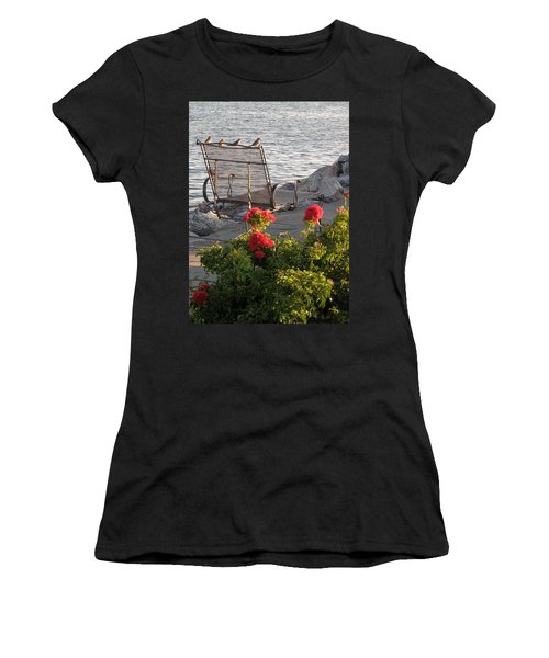 Women's T-Shirt (Junior Cut) featuring the photograph Summer Day by John Scates
