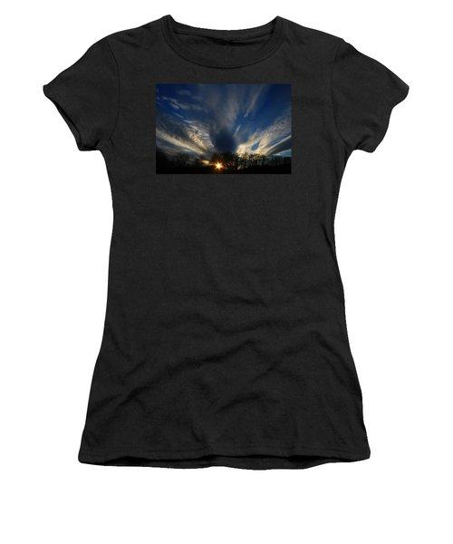 Sundown Skies Women's T-Shirt (Athletic Fit)