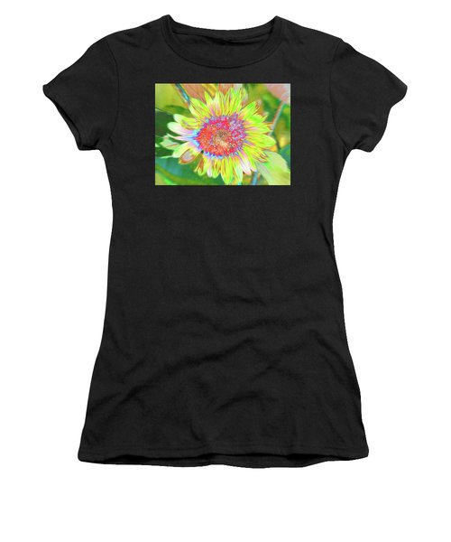 Women's T-Shirt featuring the photograph Sunnyside by Cris Fulton