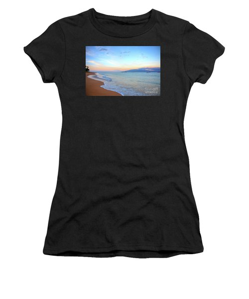 Sunrise On Kaanapali Women's T-Shirt (Athletic Fit)