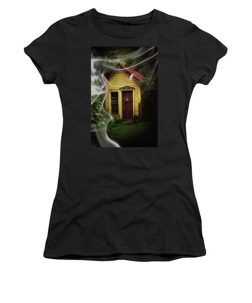 Women's T-Shirt (Junior Cut) featuring the photograph Swept Away by Jessica Brawley